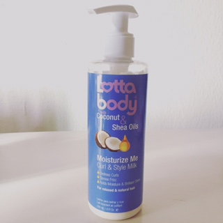Product Review – Lotta Body Moisturise Me Curl & Style Milk + Wash Day Results