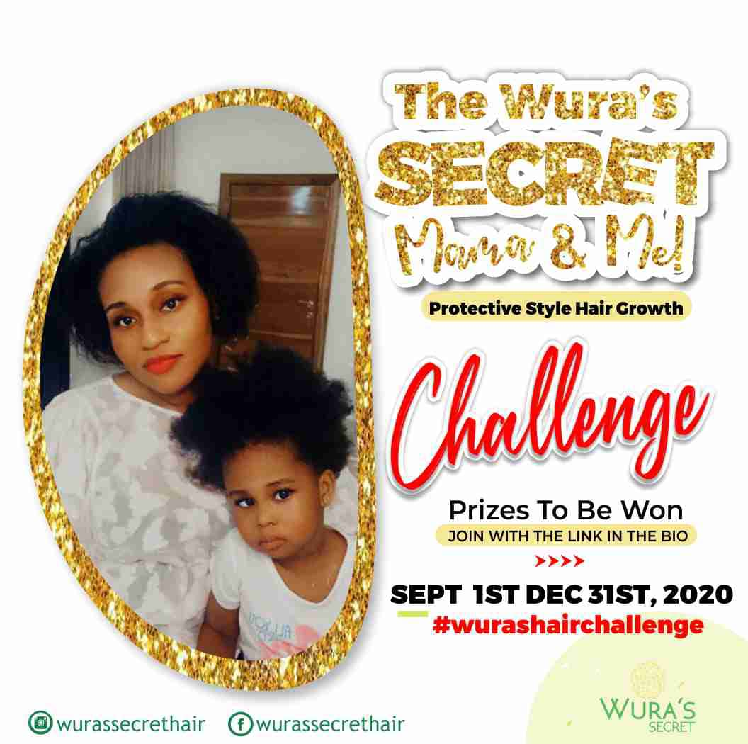 MAMA & ME HAIR GROWTH CHALLENGE